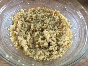 Oeufs et quinoa