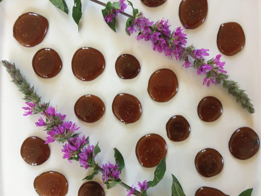 Bonbons aux fleurs de salicarire