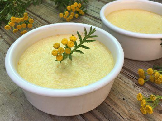 Crème dessert à la tanaisie