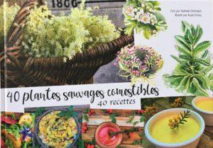 Couverture livre 40 plantes sauvages comestibles