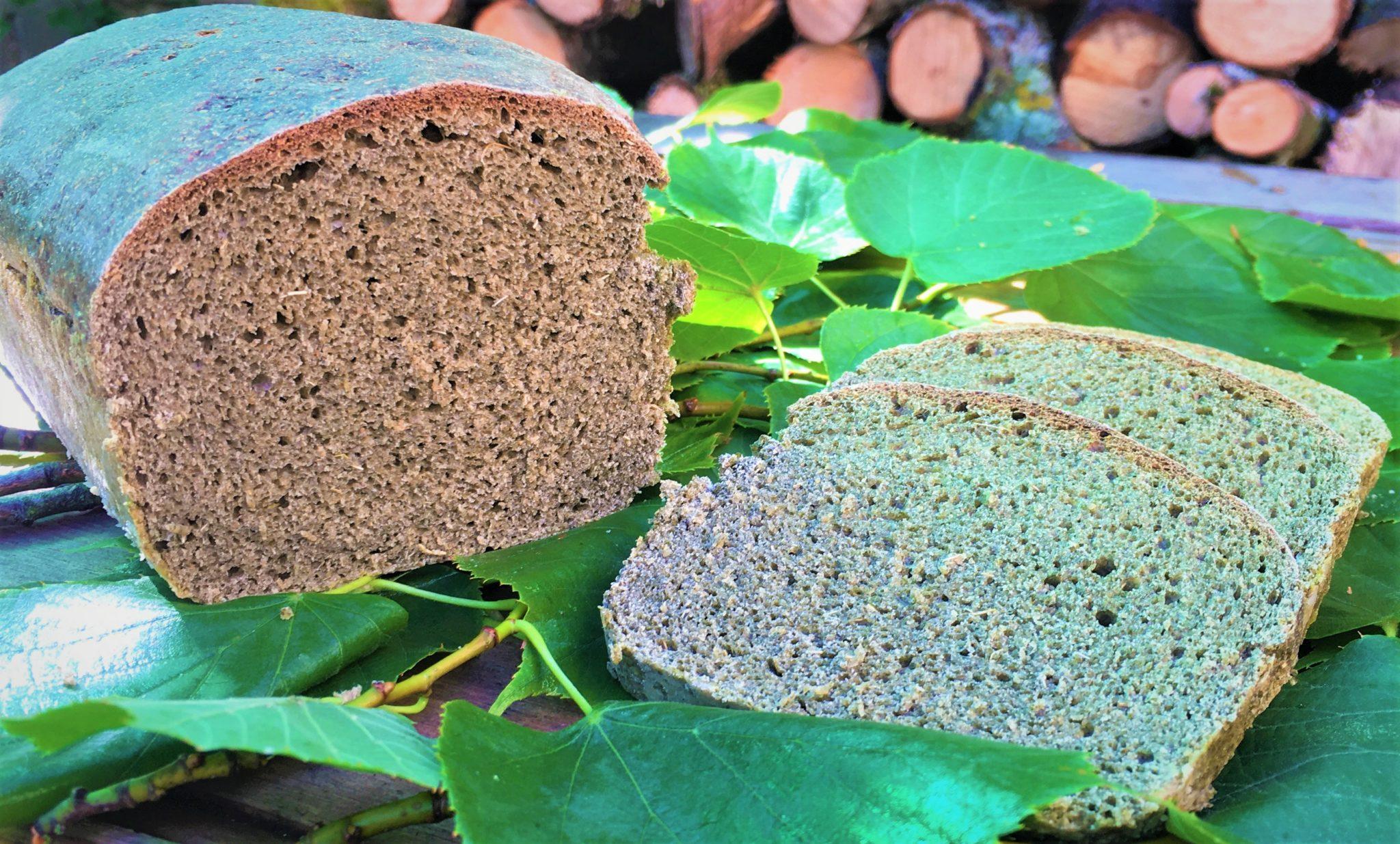 Pain aux feuilles de tilleul
