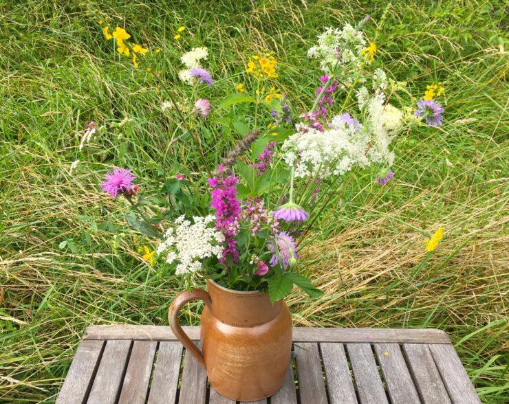Fleurs comestibles d'été